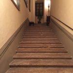 Lo scalone di Palazzo Contucci