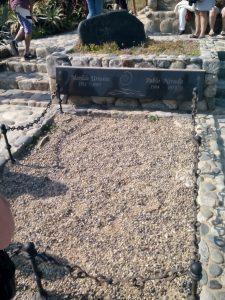 La tomba di Pablo Neruda