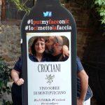 Susanna Crociani con l'autore