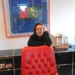 Maria Laura Vacca in ufficio