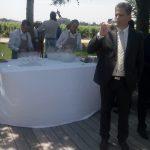 pranzo a Château Cheval Blanc