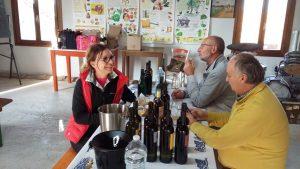 Elisa Mazzavillani ( Marta Valpiani), Paolo Francesconi, Paolo Babini ( Vigne dei Boschi)