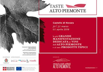 Taste Alto Piemonte 2019, dal 30 marzo al 1 aprile a Novara