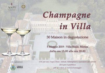 Il 5 maggio alla Villa Reale di Monza: giovani sommelier, Champagne e dream cars