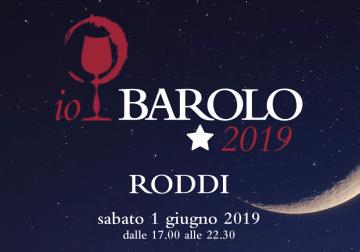 1 giugno a Roddi (Cn): Io, Barolo 2019