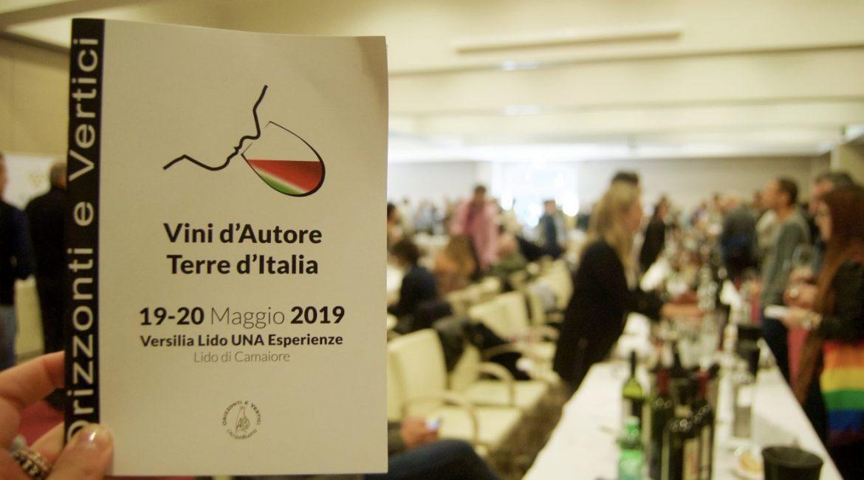 Vini d'Autore-Terre d'Italia 2019, un bellissimo settimo successo. Grazie a tutti!