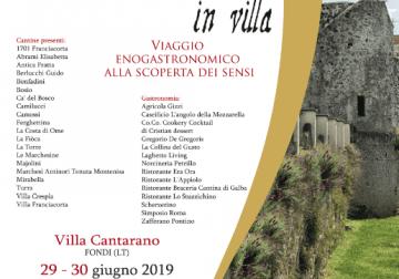 29-30 giugno, torna Franciacorta in Villa, a Fondi (Lt)