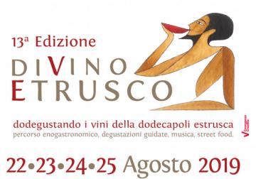 22-25 agosto a Tarquinia (VT): 13^ edizione di diVino Etrusco