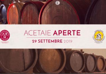 Domenica 29 settembre: Acetaie Aperte, dedicato all'Aceto Balsamico e al Tradizionale