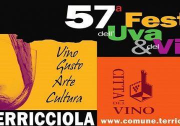 13-15 settembre:57^ Festa dell'uva e del vino a Terricciola (PI)
