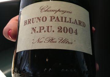 L' N.P.U 2004 e gli altri Champagne di Bruno e Alice Paillard