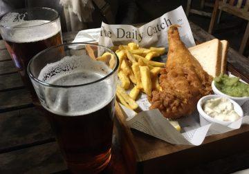 """Fish and Chips, sul """"mare piccolo"""" di Londra"""