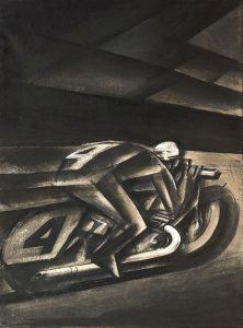 Mario Sironi - Uomo nuovo 1918