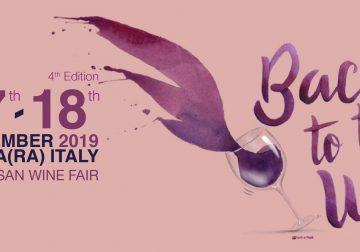 17-18 novembre a Faenza: Back to the Wine 2019