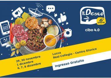 29/11-6/12 a Lucca: il cibo e la storia a Il Desco 2019