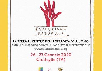 Dal 26 al 27 gennaio 2020 a Grottaglie (TA) ritorna Evoluzione Naturale