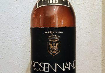 Il Rosennano Chianti Classico 1982
