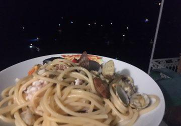 On the road again/2. Uno spaghetto allo scoglio a Positano