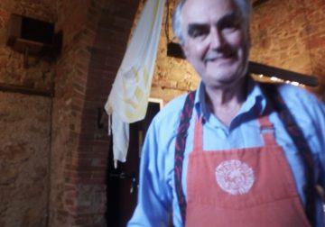 A pranzo da un amico. Roberto Crocenzi e la Taverna di Montisi