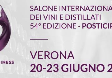 20 al 23 giugno 2021: nuova data per Vinitaly, Enolitech e Sol&Agrifood
